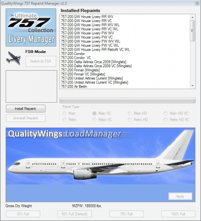 QualityWings - 757 P3D v3 Installer Released!