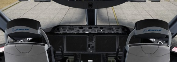 QualityWings Boeing 787 Cockpit