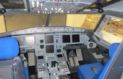 Fly Professional A320 Cockpit