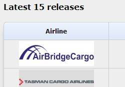 WOAI Cargo Airlines Liste