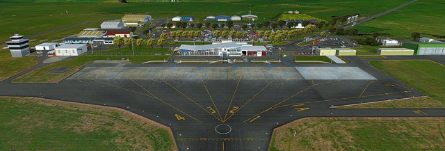 Freeware New Plymouth Airport New Zealand