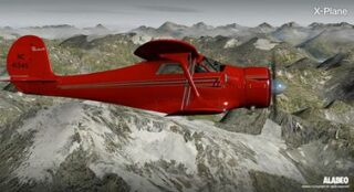 alabeo_Staggerwing_X-plane