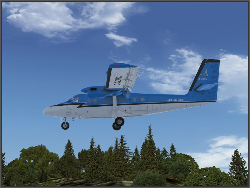 review aerosoft twin otter extended fsx p3d. Black Bedroom Furniture Sets. Home Design Ideas