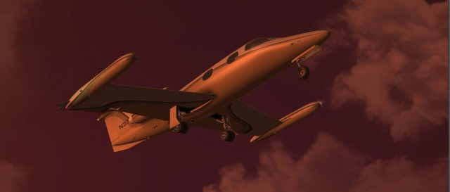 Learjet 24b - Promotion