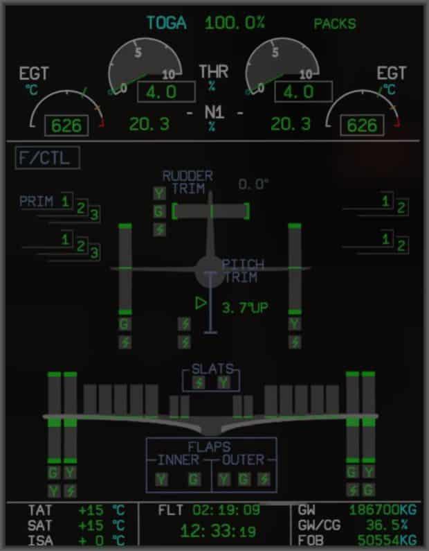 A350 XWB XP System Controls