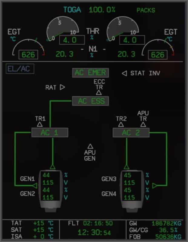 A350 XWB XP System Electrik