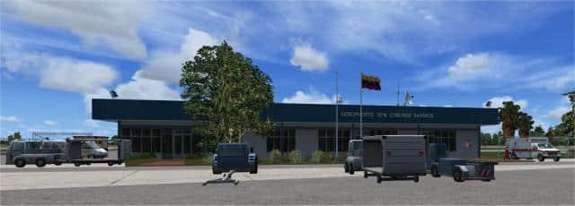 San Tome Airport Headline
