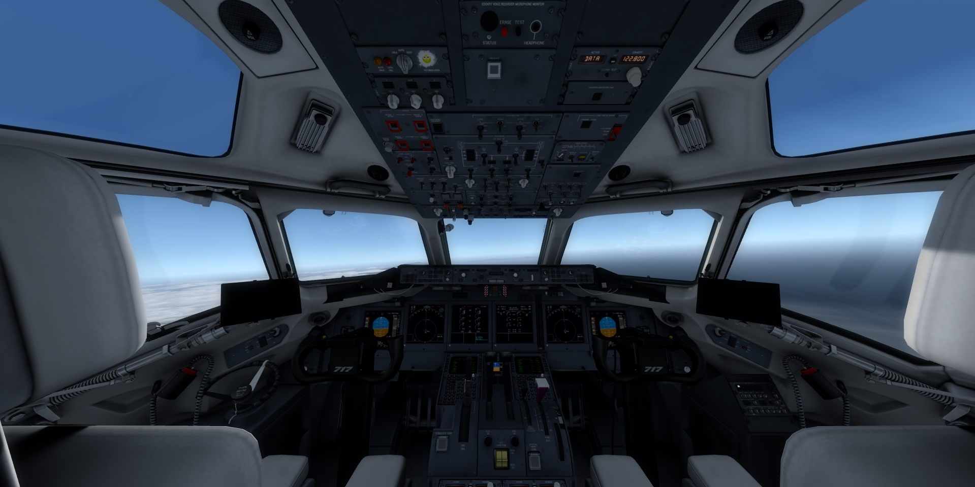 how to fly tfdi 717
