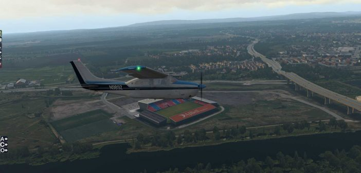 OrbX Barton, City Airport & Heliport Manchester (X-Plane 11)