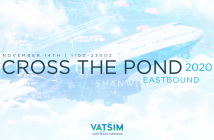 VATSIM, Cross the Pond Eastbound 2020