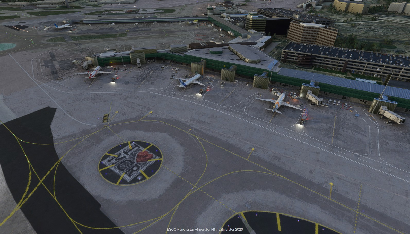 Macco Simulations macht Manchester Airport Ready for Departure