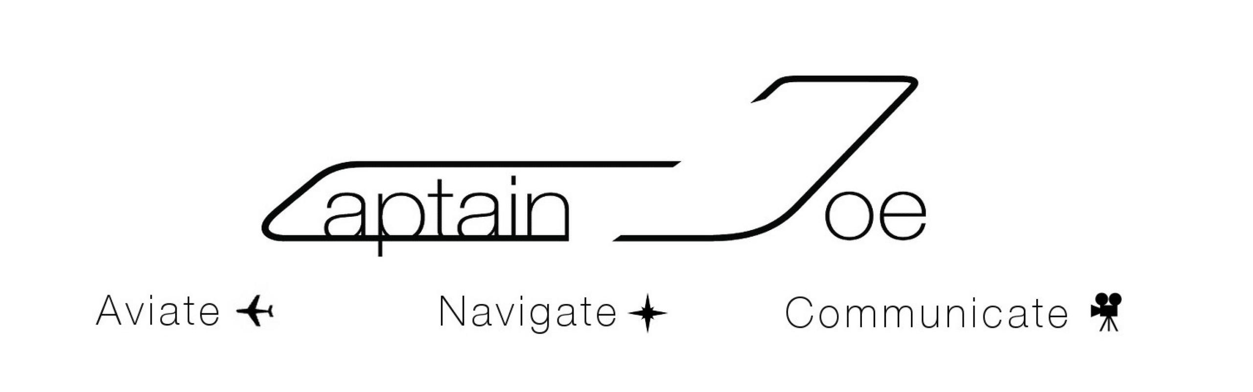 "Captain-Joe-Youtube-Logo Ask Captain Joe ""Lights and transponder at departure"""